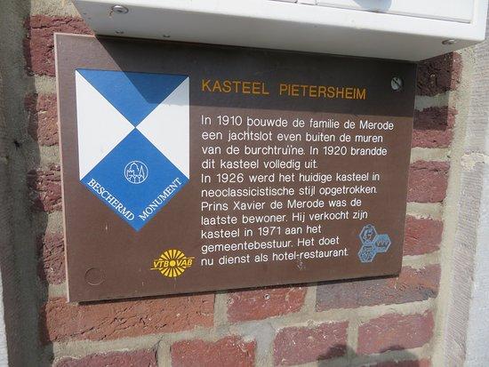 Lanaken, Belgio: Infobord