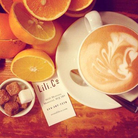 Lili Co. : Brunch - Café