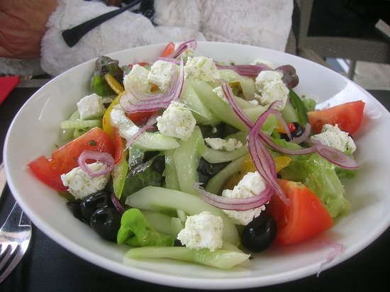 Le Transat : Salade végétarienne