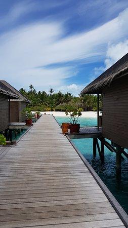 Meeru Island Resort & Spa: Walk to Malaan from room