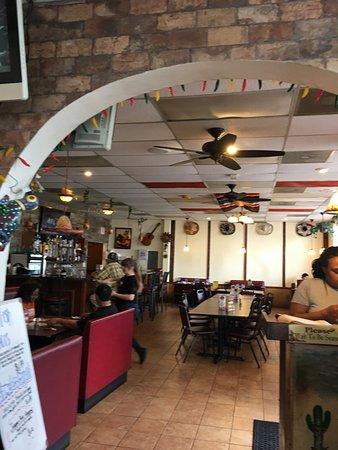Fajita Grande: Looking into bar area