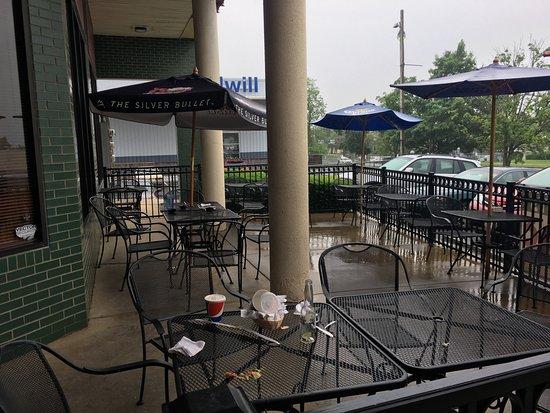 Fajita Grande: Outdoor dining area