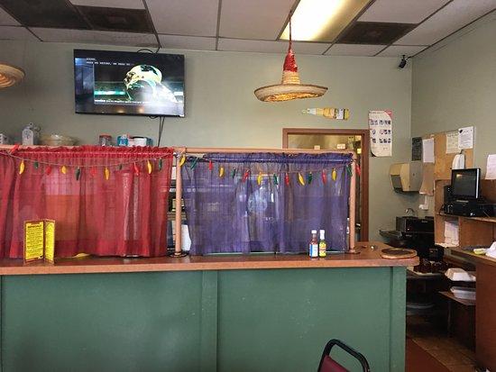 Fajita Grande: Kitchen area