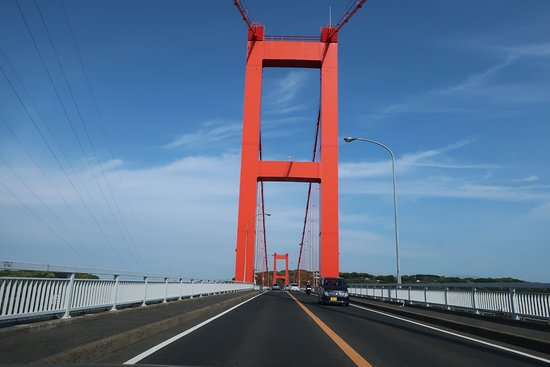 Hirado Ohashi: 真っ赤な橋桁