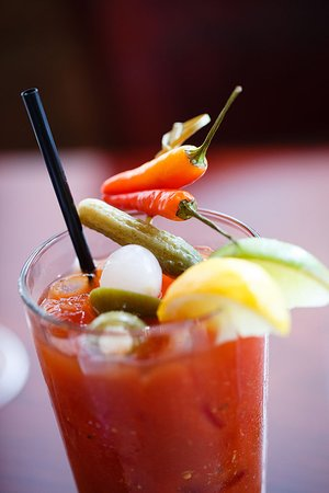 Firefly American Bistro : Build Your Own Bloody Mary Bar during Sunday Brunch
