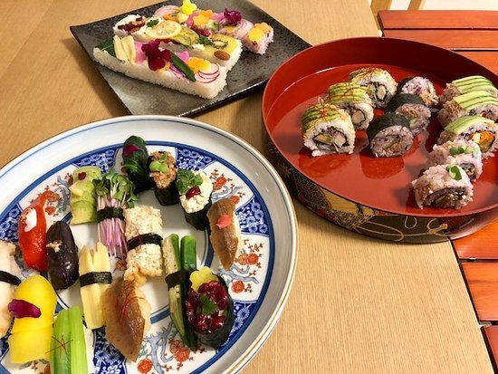 Cooking Class Japan Cross Bridge: Vegan sushi
