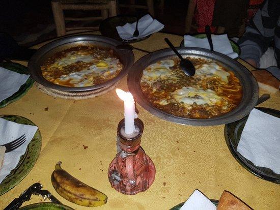 Desert Morocco Adventure: Berber dinner in the camp