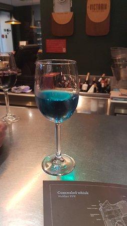 Blauer Weißwein