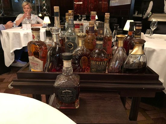 The Savoy Grill : Drinks Trolley