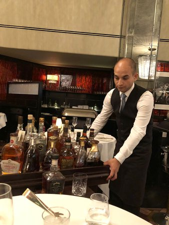 The Savoy Grill : Ciprian!