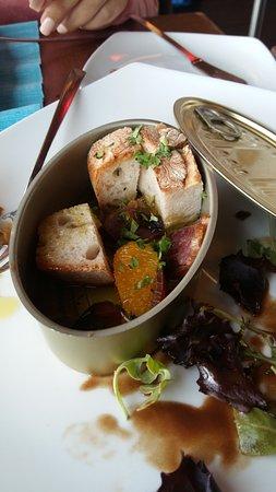 Chá Com Água Salgada : muxama de atum