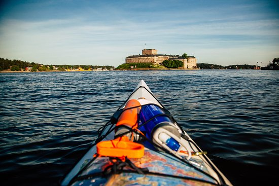 Skargardens Kanotcenter Kayaks & Outdoor: Vaxholm Fortress just by kayak!