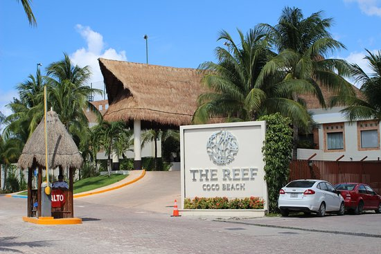 The Reef Coco Beach: entree