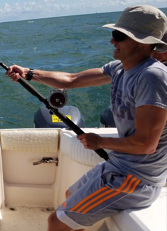 Kapt Keepers Charters: It was a great fight and one my son will remember for a life time.
