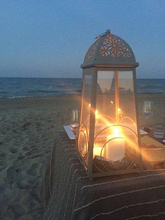 Bagno Oreste: cena a lume di candela