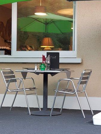 Hotel Le Brunet: terrasse