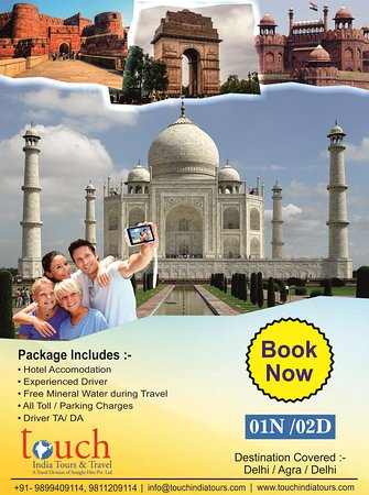 Touch India Tours And Travel: Our Best Selling Package