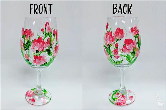 Painting with a Twist : Paint your own wine glass set!