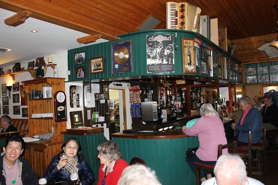 Crolly, Irlanda: Bar at the Tavern