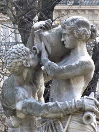 Statue Le Jour : Détail de la sculpture