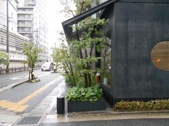 Confectionery Goto : 五島の横顔(写真左手に女子校が写っています)
