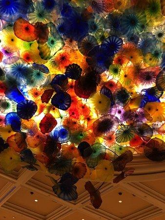 Bellagio Las Vegas: ロビー天井の飾り