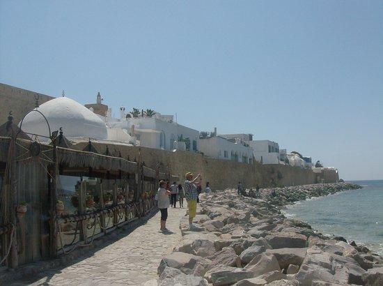 Kasbah of Hammamet: front de mer de la medina
