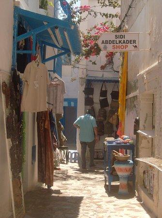 Kasbah of Hammamet: dans le souk