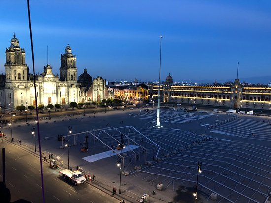 The Zocalo And Cathedral Picture Of Terraza Mexico City