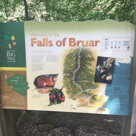 Falls of Bruar ภาพถ่าย