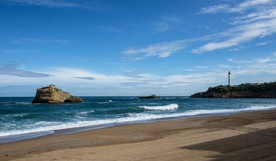 Sofitel Biarritz Le Miramar Thalassa sea & spa : Plage du Miramar