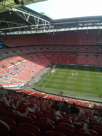 Wembley Stadium: Calm before the storm