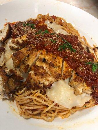Eastside Diner: Chicken Parmesan Pasta