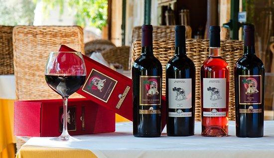 Masseria Pisciani: linea vini
