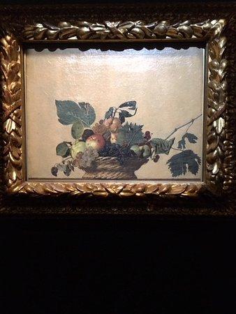 Pinacoteca Ambrosiana: Basket of Fruit, c.1599 - Michelangelo Merisi da Caravaggio