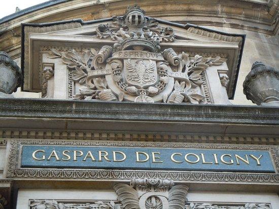 Statue Gaspard de Coligny