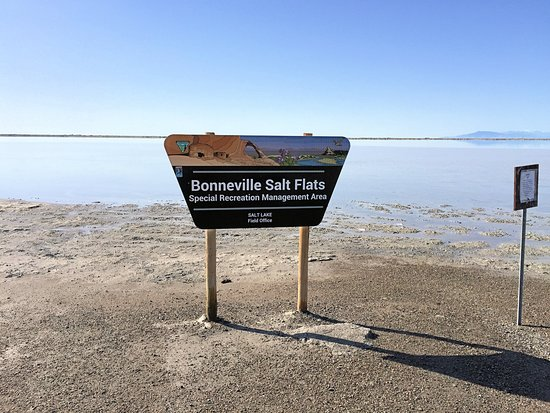 Bonneville Salt Flats Sign - Picture of Bonneville Salt Flats ...