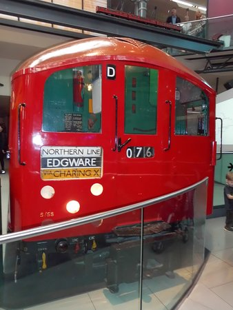 London Transport Museum: another tube
