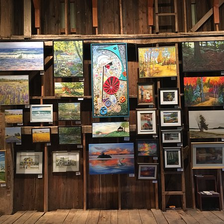 The Local Store : The main Gallery.  County fine art