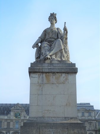 La statue La Seine