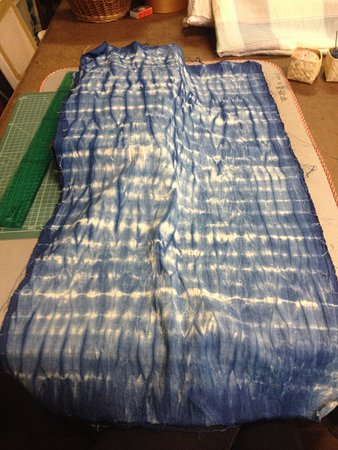 Arts & Crafts Village: Indigo dye fabric