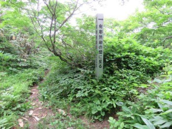 Kyu Sasaya Kaido Yuhodo Course: 関所跡に近づきました