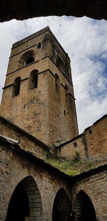 Iglesia de Santa Maria : Clocher vu du cloître