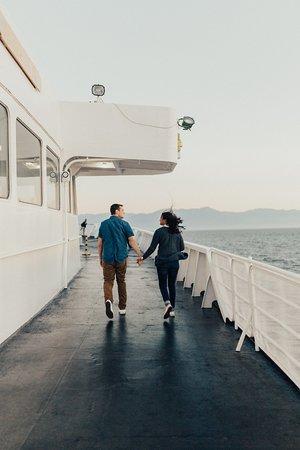 Black Ball Ferry Line: Outer Deck