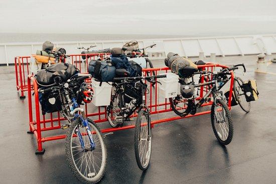 Black Ball Ferry Line: Onboard Bike Racks