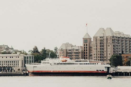 Black Ball Ferry Line: Arrive in the Victoria Inner Harbour