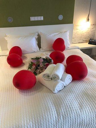Senia Hotel: honeymoon additions
