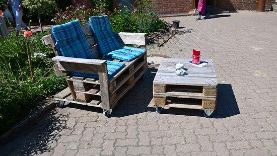 Wunstorf, Almanya: Sitzgelegenheit