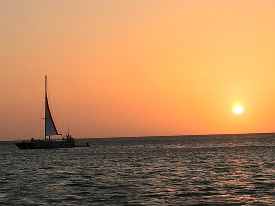 Octopus Sailing Charters: Octopus Aruba Sunset Sailing Catamaran Cocktails Friends Family Caribbean