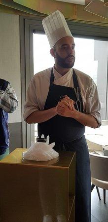 Restaurante Callizo: Un agréable moment de dégustation du Caviar du Rio Cinca